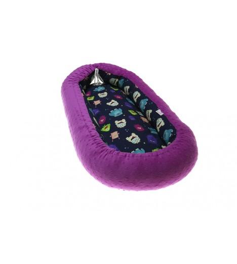 """Kojec minky / bawełna dla noworodka """"Baby nest"""""""
