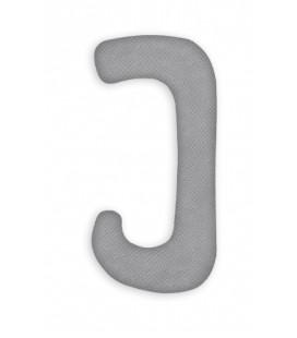 Poduszka ciążowa welwetowa typu J