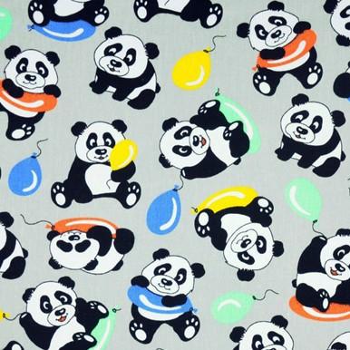 panda szara