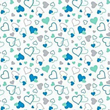love niebieskie