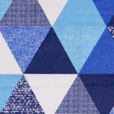 duże trójkąty niebieskie granat