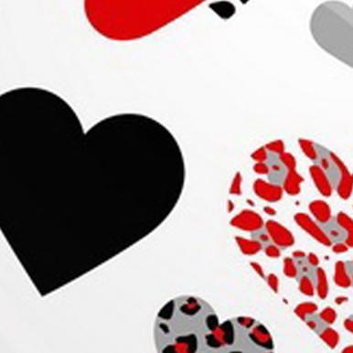 love you czerwone