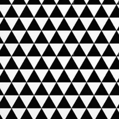 trójkącikidwa biało czarne