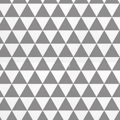 trójkącikidwa szaro białe