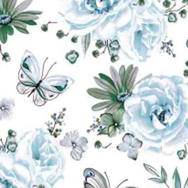 błękitne kwiaty
